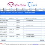 Single or Multiple Itinerary Deviation Feature